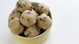 How To Make Cookie Dough Bites | No Bake Recipe & 7 Ingredients Only