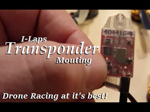 Transponder Mounting for Your Drone Racer