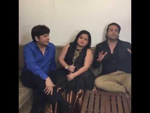 Krishna  Sudesh & Bharti talking about kapil sharma & Sunil grover fight....