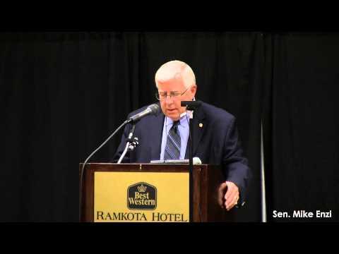 U.S. Sen. Mike Enzi speaks at GRO-Biz 2015 in Casper, Wy