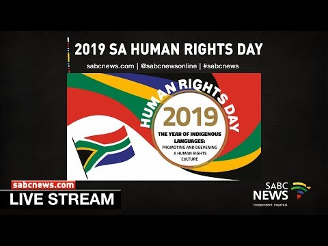 2019 National Human Rights Day, Vereeniging: 21 March 2019