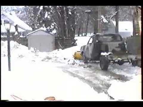 Ford Ranger Plowing Snow >> 1995 Chevy S10 Blazer 4 door with MEYER Snow Plow | Doovi