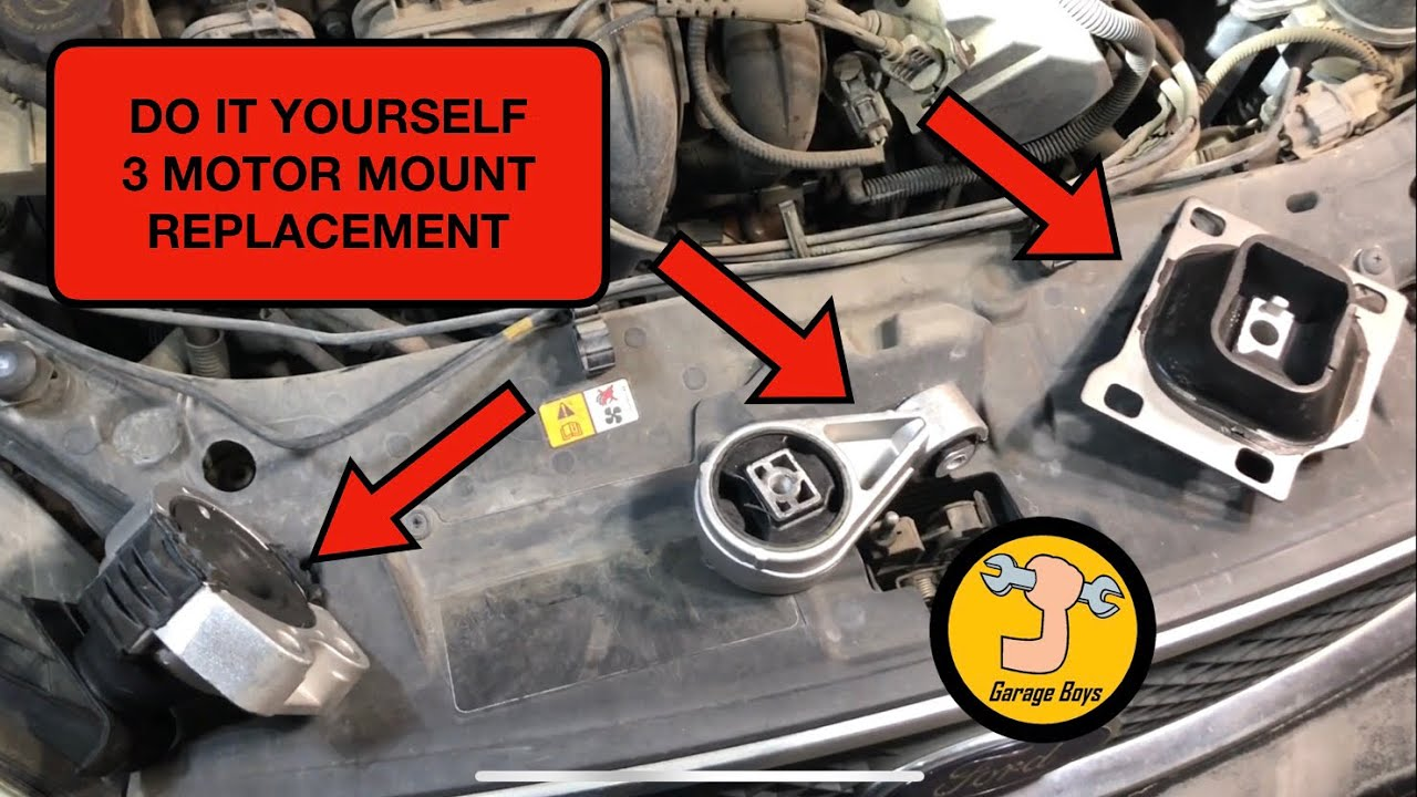 Ford Focus Motor Mounts Replacement - YouTubeYouTube