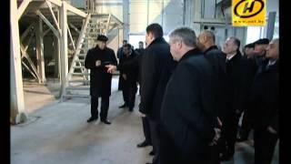 Лукашенко посетил «Борисовдрев»