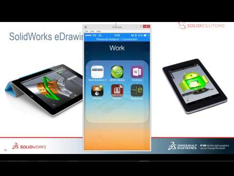 SolidWorks EDrawings: Augmented Reality