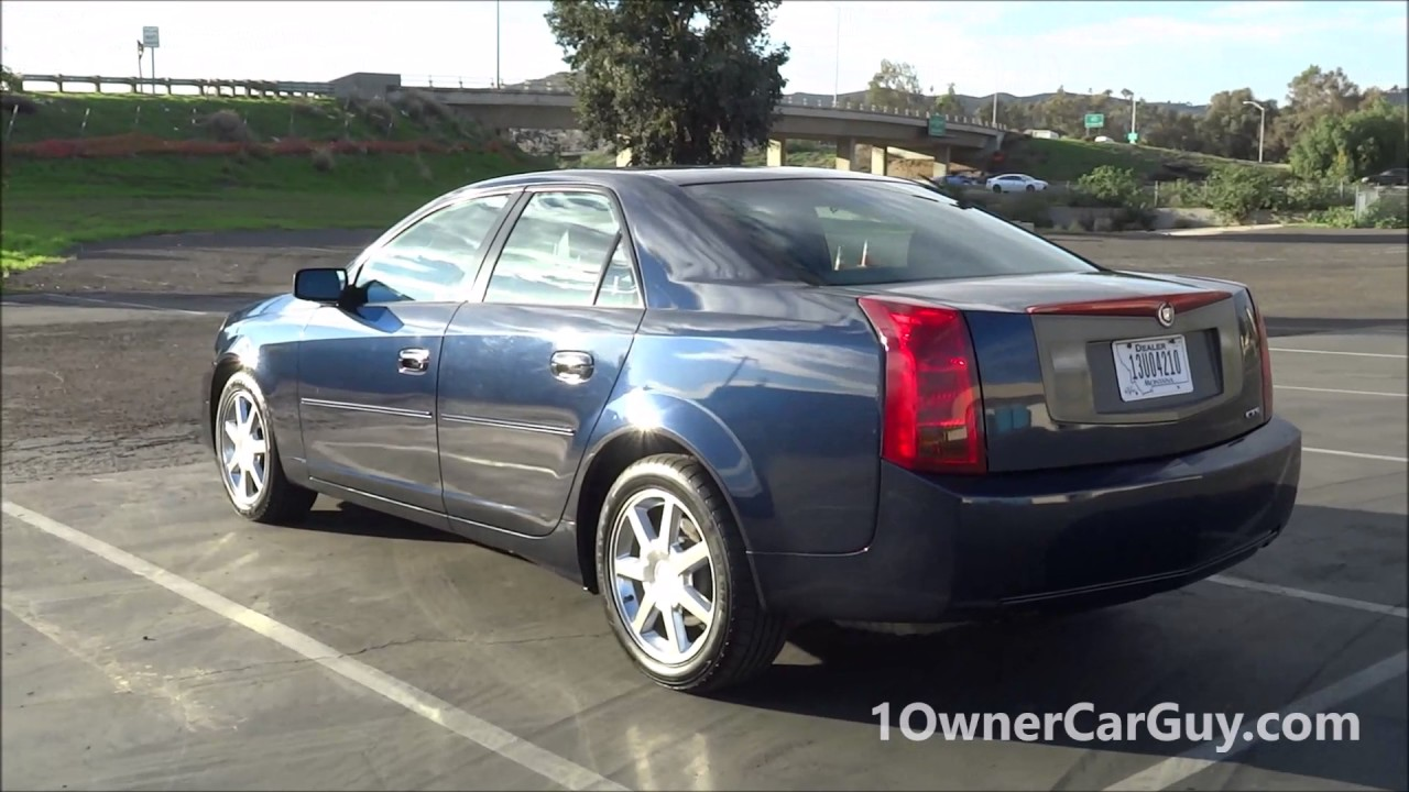 2004 cadillac cts for sale 1 owner clean 88k cheap preview. Black Bedroom Furniture Sets. Home Design Ideas