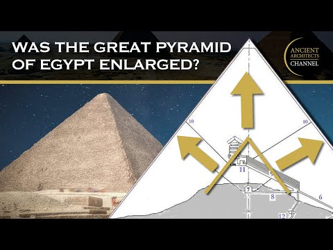 Was the Great Pyramid of Egypt Enlarged in the 26th Dynasty? | Ancient Architects