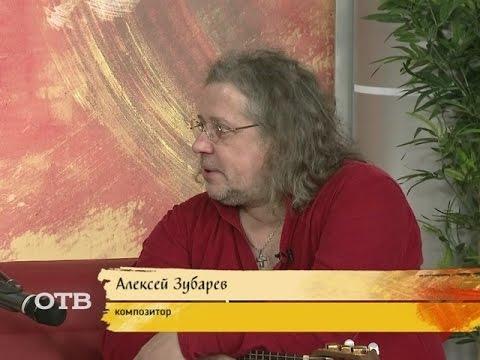 Гитарист группы Аквариум Алексей Зубарев (03.06.15)