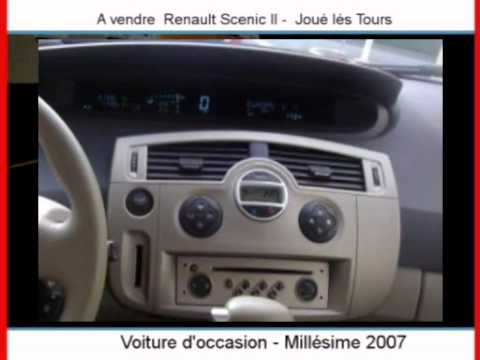 achat vente une renault scenic ii jou l s tours youtube. Black Bedroom Furniture Sets. Home Design Ideas