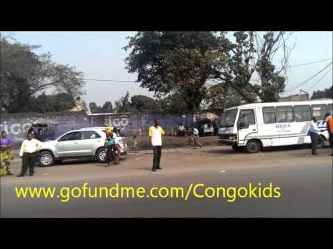 Trip to Kinkole in the Democratic Republic of Congo