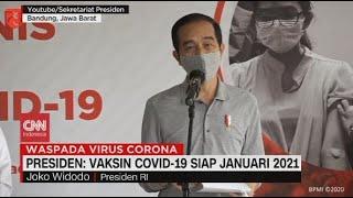 Jokowi: Vaksin Covid-19 Siap Januari 2021