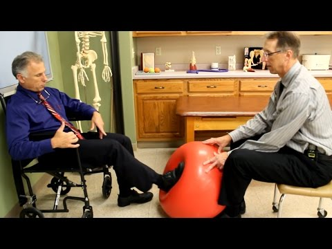 Leg Strengthening after Stroke Using Exercise BallEasy Treatment