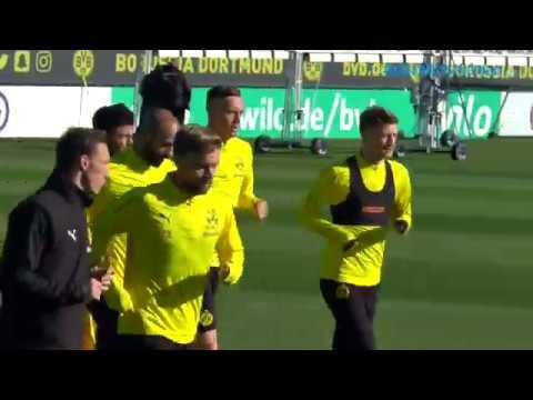 Kapitän Marco Reus ist zurück im BVB-Training