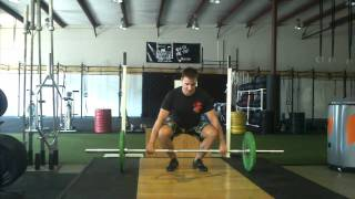 Power Clean Second Pull TechniqueWOD- Episode 9
