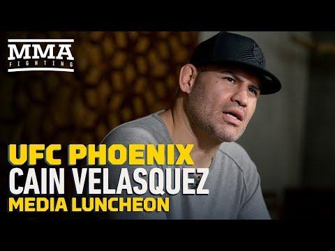 UFC Phoenix: Cain Velasquez Says He Would Have Left MMA If UFC Contract Didn't 'Make Sense'