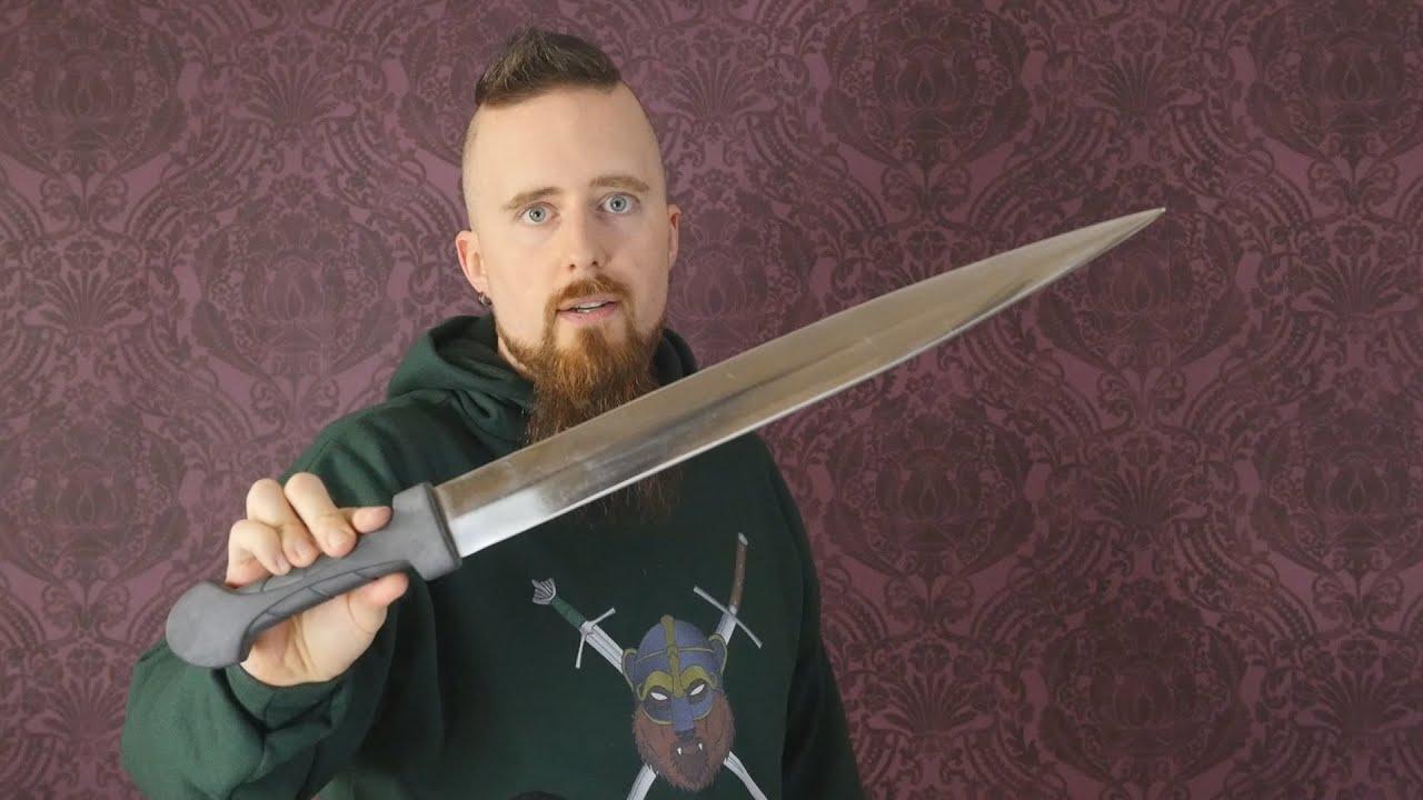 Download Review: Cobra Steel kindjal - One of the best budget swords