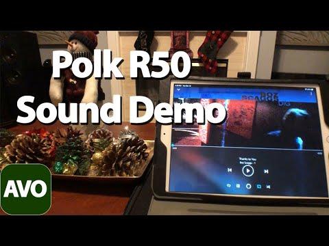 Polk Audio R50 Sound Demo Boz Skaggs Thanks To You