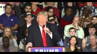 Donald Trump Pre Fox Business Debate Rally