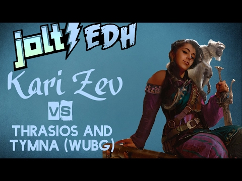 Jolt - Commander - Kari Zev, Walk the Plank vs Tymna and Thrasios (WUBG)
