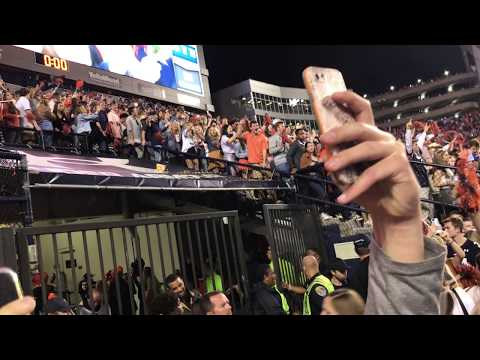 Auburn Fans Sing Dixieland Delight After Iron Bowl Win Over Alabama