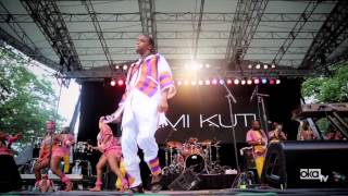 femi kuti and common live in central park