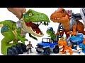 Mech Dinosaurs War~! Romeo, Stop Bothering Dinosaurs #ToyMartTV