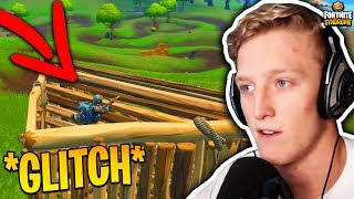 TFUE SHOWS OFF *NEW* PEEK GLITCH! - Fortnite Moments #108