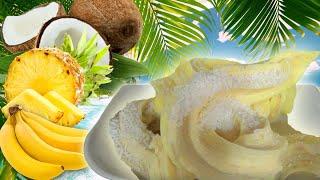 Healthy Pineapple-banana-coconut Ice Cream Ft. The Dessert Bullet (dairy Free!)