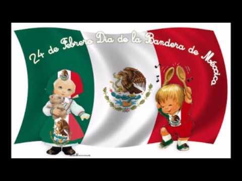 cancion infantil dia de la bandera mexicana himno infantil