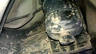 volvo xc90 замена топливного фильтра