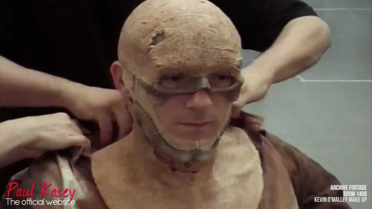 Room 1408: Official Film Makeup Tutorial (Paul Kasey/Kevin O ...