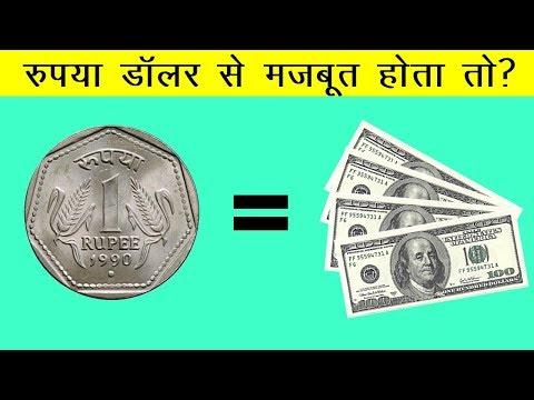 Indian Rupee Vs US Dollar In Hindi | क्या होगा अगर रुपया डॉलर से मज़बूत हो जाए तो ?