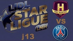 Nantes VS Paris SG Handball LIDL STARLIGUE j13