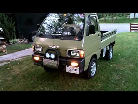 LED light conversion 1992 Daihatsu  Hijet S83p