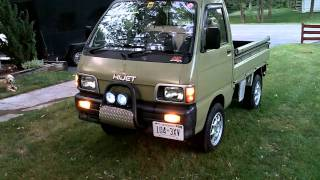 LED light conversion 1992 Daihatsu  Hijet S83p