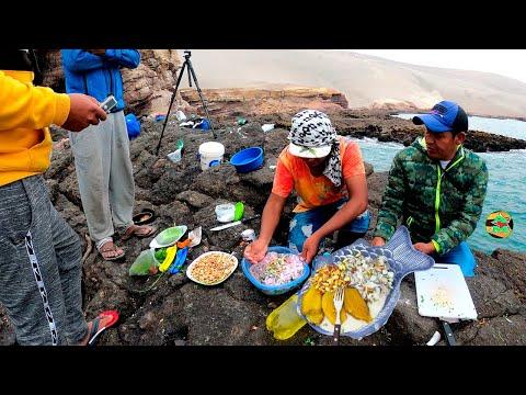 CEVICHE DE PESCADO EN LA ORILLA DEL MAR - And Moll - sea fish ceviche