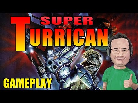 "Gameplay de Super Turrican (SNES) - ""Jogo do Jaspion"" - YouTube"