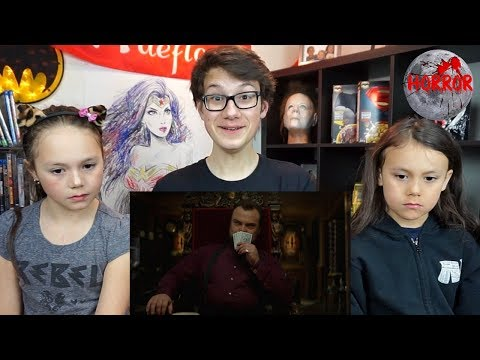 THE HOUSE WITH A CLOCK IN ITS WALLS Official Trailer Reaction!!!