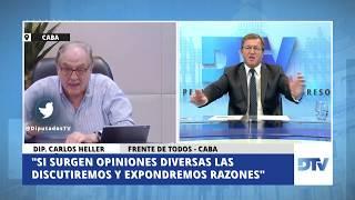 02-06-2020 — Carlos Heller en Diputados TV — Con Eduardo Serenellini