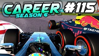 DAMAGE LIMITATION BUT THE GAME BROKE...... - F1 2017 Career Mode Part 115