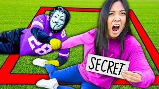 LAST TO LEAVE SQUARE WINS 24 HOUR CHALLENGE vs HACKERS! Loser Reveals Secret to SPY NINJAS!