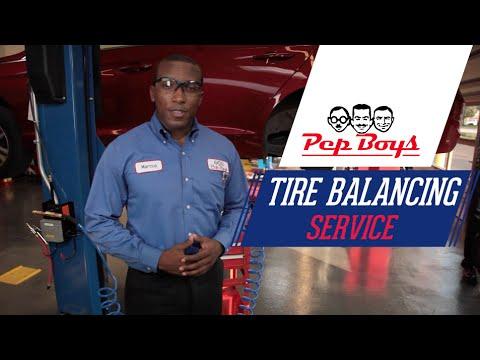 Tire Balancing - Pep Boys