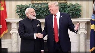 WHEN TRUMP MET WITH THE INDIAN PM, NO ONE THOUGHT THEY'D END UP DOING THIS