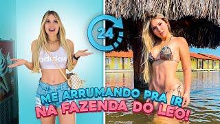 24H ARRUMANDO PARA IR PARA A FAZENDA DO LEONARDO!!
