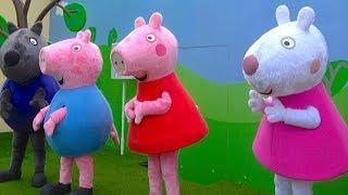 Peppa Pig House - Family trip to Peppa Pig Theme Park