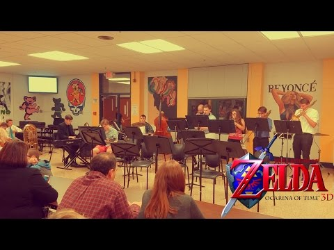 """LoZ OoT - """"Song of Storms"""" [Jazz Combo Cover LIVE]"""