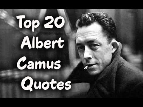 Top 60 Albert Camus Quotes Author Of The Stranger YouTube Classy The Stranger Quotes