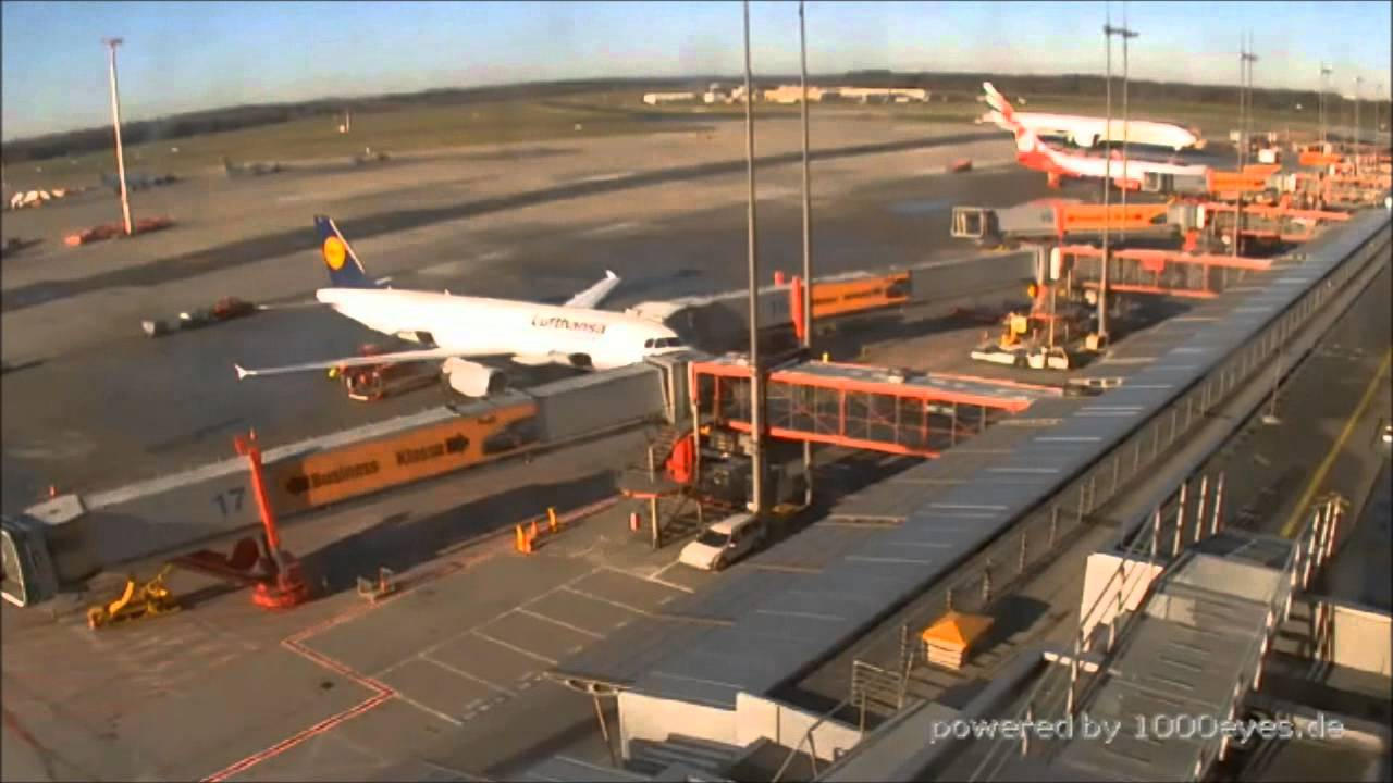 hamburg airport webcam timelaspe youtube. Black Bedroom Furniture Sets. Home Design Ideas