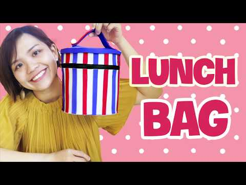 Make Your Own Cute DIY LUNCH BAG!