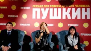 Сериал СТС «Пушкин» представили в Петербурге (2)